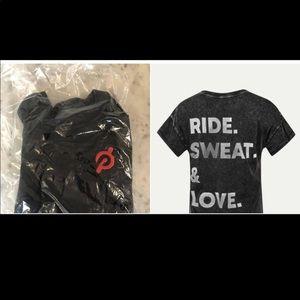 Peloton NWT Ride Sweat Love T-shirt